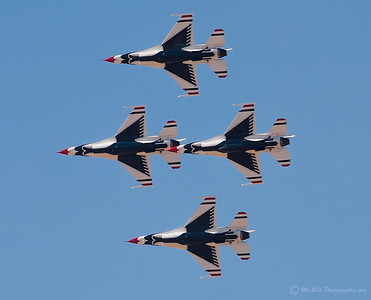 Thunderbirds - bottom view of 4