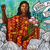 """OAKLAND BLM MURAL, BRIONNA TAYLOR III, 'BRING ME JUSTICE"""""""