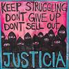 """OAKLAND BLACK LIVES MATTER MURAL, """"JUSTICIA"""""""
