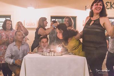 Combined 50th Birthday Party at Skandia,  Kythera Greece