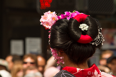 The Grand Parade marks the 44th annual celebration of the Cherry Blossom Festival in Japan Town of San Francsico, April 17, 2011. © Cody T Williams.
