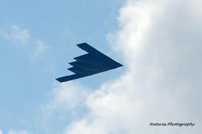 USAF B-2 Spirit Fly-by