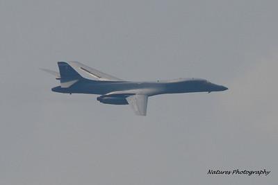 USAF B-1B Lancer Fly-by
