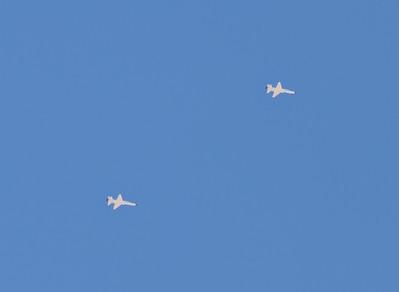 Two NASA T-38 Talon