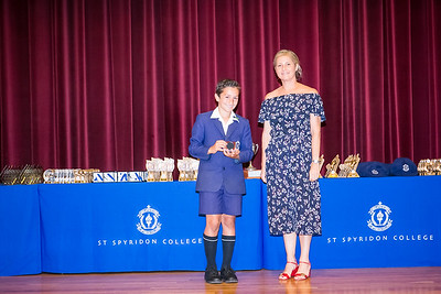 St Spyridon College End of Year Sports Awards