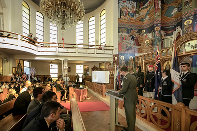 2017 Belmore Greek Church with Presidential Guards of Greece