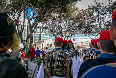 Presidential Guard (Evzones) Sydney Australia 2018
