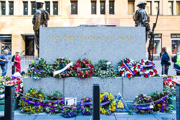 ANZAC Day March 2016, with the EVZONES Sydney Australia