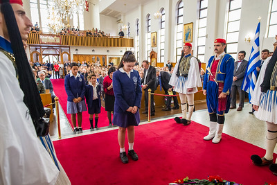 ANZAC Ceremony St Spyridon Church 2016