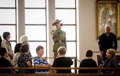 ANZAC Ceremony St Spyridon Church 2016