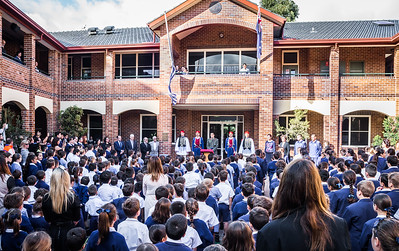 St Spyridon Jr College with the EVZONES Sydney Australia