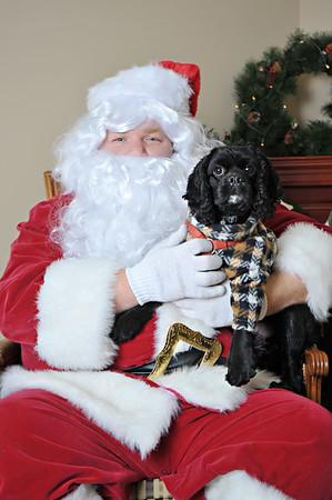 HSGA Photos With Santa 2010