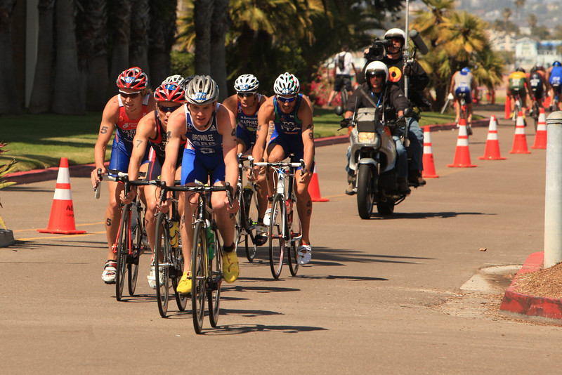ITU Triathlon - San Diego - Olympic Qualifying Event, Men's Elite Division- May 12, 2011 - Bike Event - [© 2012 Cynthia Hedgecock]