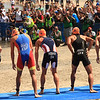 ITU Triathlon - San Diego - Olympic Qualifying Event, Men's Elite Division - swim start [© 2012 Cynthia Hedgecock]