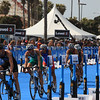 ITU Triathlon - San Diego - Olympic Qualifying Event, Men's Elite Division- May 12, 2011 - Bike Event , entering transition area - [© 2012 Cynthia Hedgecock]