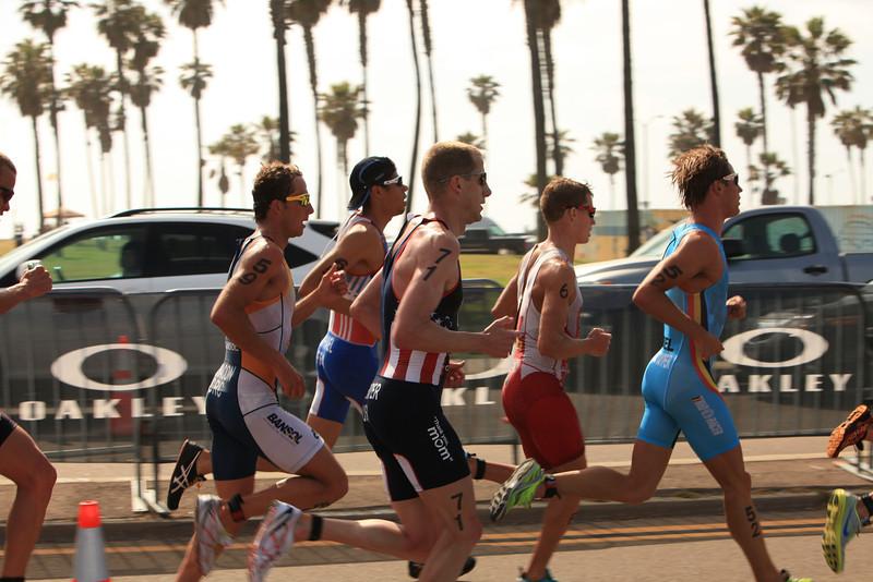 ITU Triathlon - San Diego - Olympic Qualifying Event, Men's Elite Division- May 12, 2011 - Running Event - [© 2012 Cynthia Hedgecock]