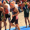 ITU Triathlon - San Diego - Olympic Qualifying Event, Men's Elite Division - Billington USA before swim