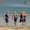 ITU Triathlon - San Diego - Olympic Qualifying Event, Men's Elite Division- May 12, 2011 - Swim start - [© 2012 Cynthia Hedgecock]
