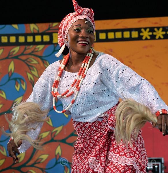 3L IFEDE DE BENIN, BWNIN DANCERS, NEW ORLEANS JAZZ AND HERITAGE FESTIVAL, 2019, III
