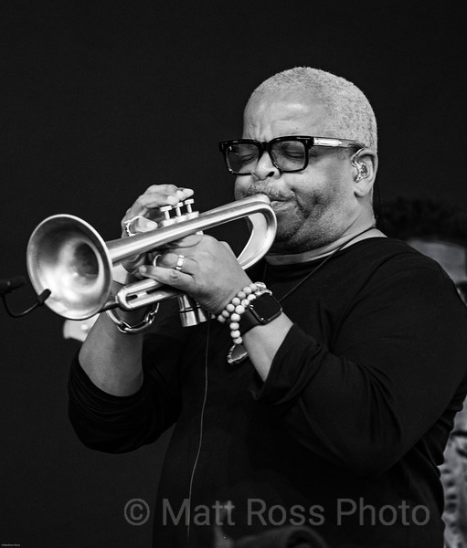 TERENCE BLANCHARD,AT NEW ORLEANS JAZZ AND HERITAGE FESTIVAL, 2019