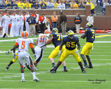 Devin Gardner threw and ran for a score