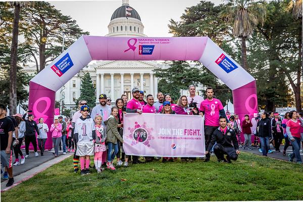 Making Strides Breast Cancer Walk