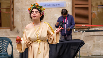 """""""Maremagnum"""", an annual celebration of all things Roman for the students of Mallorca."""