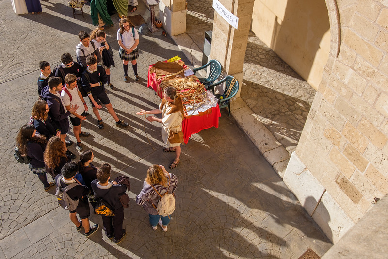 """Maremagnum"", an annual celebration of all things Roman for the students of Mallorca."