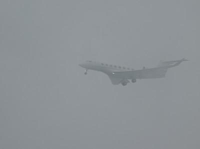N811TM  - Foggy Approach