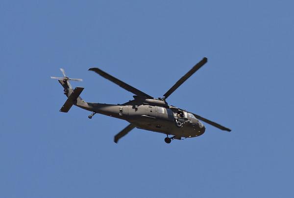 Sikorsky UH-60 Black Hawk - Peeking Out