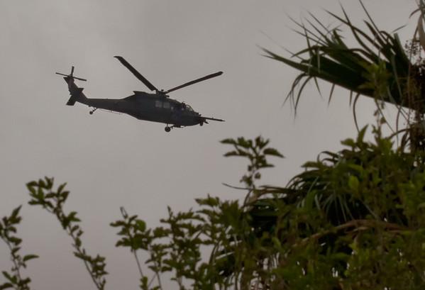 Sikorsky UH-60 Black Hawk with in-flight refueling probe