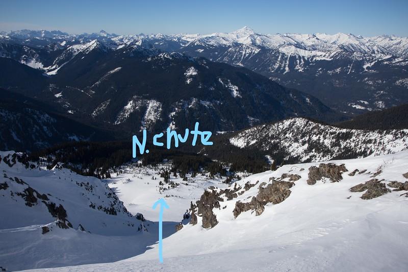 Rock Mountain North Chute