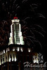 New Year's Eve in Las Vegas 2011  <br /> Fireworks from the rooftop of New York New York Hotel & Casino <br /> <br /> © Copyright Hannah Pastrana Prieto
