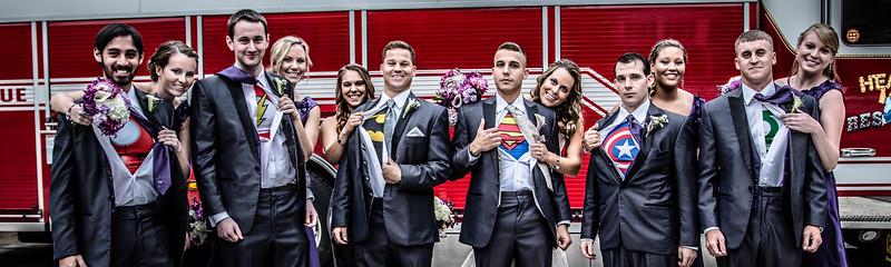 October 8, 2014 - Lauren and Marshall's Wedding