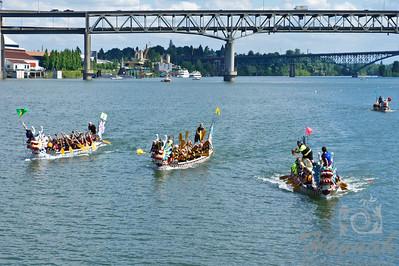 Portland Rose Festival Dragon Boat Race 2011  © Copyright Hannah Pastrana Prieto