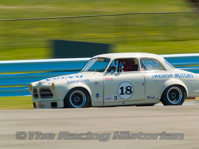1963 Volvo 122 Amazon at the 2007 HSR Historic Races at Watkins Glen.