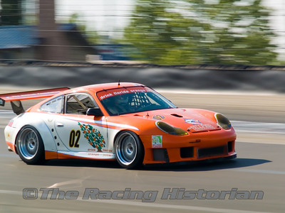 2003 Porsche GT3RS at the 2007 HSR Watkins Glen Historic Races.
