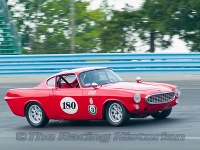 1962 Volvo P1800 at the 2007 HSR Watkins Glen Historic Races event.