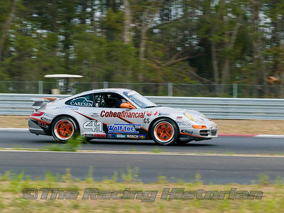 TRG Porsche 997 (Peter Ludwig and Scott Schraeder) at 2008 Rolex Sports Car Series at Thunderbolt Raceway (NJ Motorsports Park)
