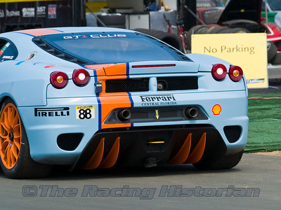 Ferrari F430 at the 2008 Ferrari Challenge Race at Thunderbolt Raceway (NJ Motorsports Park)