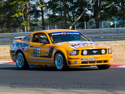Rehagen Racing (Jack Roush, Jr. and Dean Martin) Mustang GT in the 2008 Koni Challenge at Thunderbolt Raceway (NJ Motorsports Park)