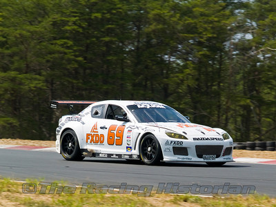 SpeedSource (Emil Assentato and Jeff Segal) Mazda RX-8 at 2008 Rolex Grand-Am at Thunderbolt Raceway (NJ Motorsports Park)