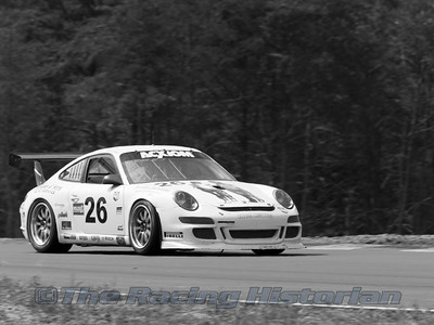 Gotham Competition (Jerome Jacalone and Joe Jacalone) Porsche GT3 at the 2008 Rolex Grand-Am at Thunderbolt Raceway (NJ Motorsports Park)