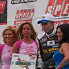 Andrew Aquilante (Subaru WRX) in Victory Lane after finishing 3rd.