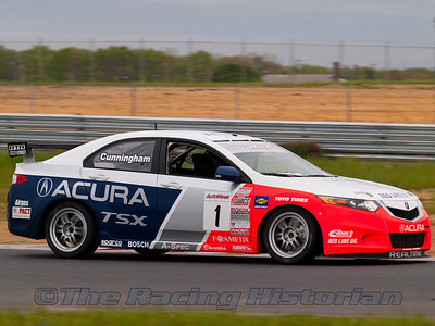 Peter Cunningham in the RealTime Racing Acura TSX.