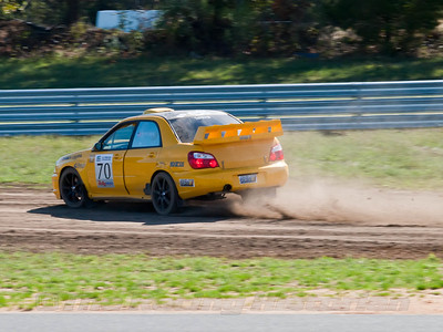 2010 Rally America event at New Jersey Motorsports Park