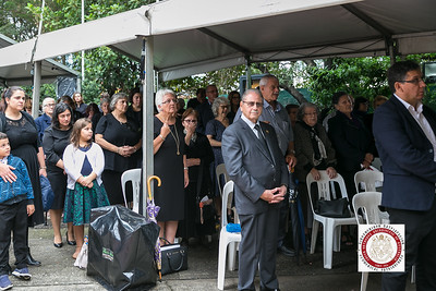 Funeral service of Archbishop Stylianos of Blessed Memory