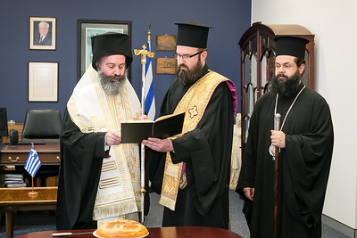 Greek Consulate of Sydney Visit by Archbishop Makarios