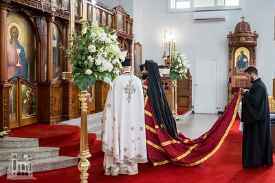 St Spyridon Church Sunday With Bishop Emilianos of Meloe.