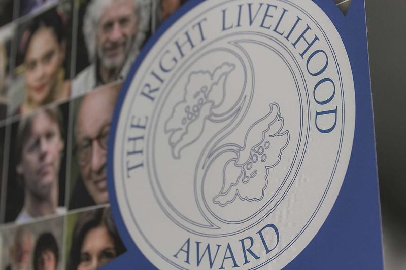 """Right Livelihood Award (""""Alternativer Nobelpreis"""")"""